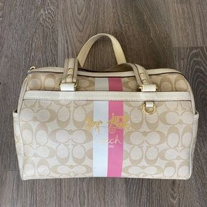 Mini duffle coach purse